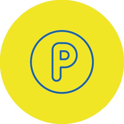Parkplätze vorm EDEKA Wittmann in Buchbach