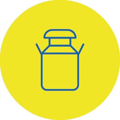 Butter, Joghurt, Quark, Sahne und weitere Molkereiprodukte