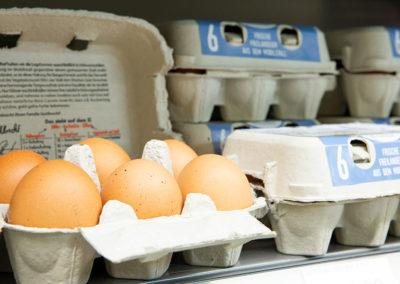 Frische Eier aus der Region bei EDEKA Wittmann